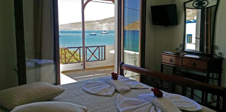 Πολυτελές Διαμέρισμα με Θέα Θάλασσα - Anemoessa Apartments - Tilos
